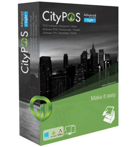 CityPOS Advanced RETAIL BOX